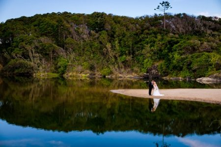 Lagoon Wedding Photo